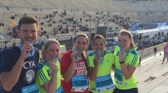 cya students 2016 Athens Marathon