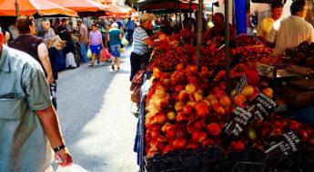 Athenian fresh food market