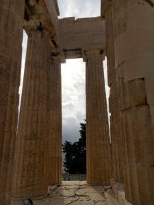 inside the parthenon athens greece