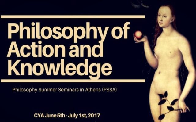 PHILOSOPHY SUMMER SEMINARS IN ATHENS