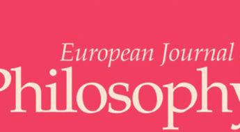 cyathens cyablog European Journal of Philosophy