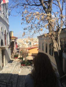 little Athenian backstreets