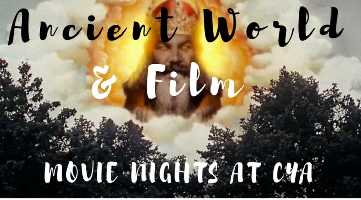 cyathens cyablog ancient world and film movie nights at cya