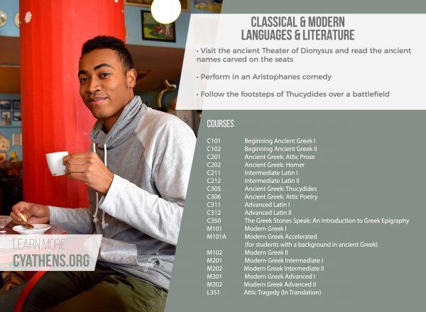Classical & Modern Languages at CYA