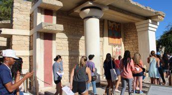 palace of knossos cya crete field trip