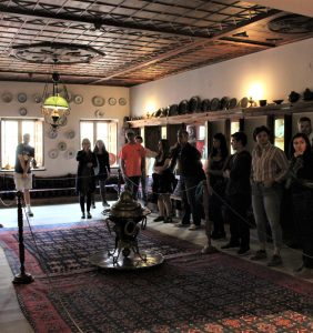 We toured all three floors of the Tositsa Mansion, built in 1661 and renovated in 1954.