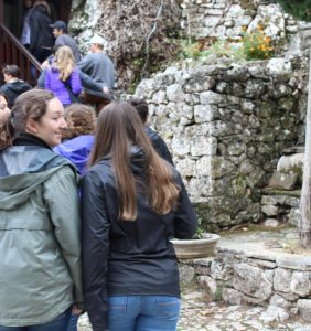 We visited the summer home and torture room of historical Ioanninan governor, Ali Pasha.