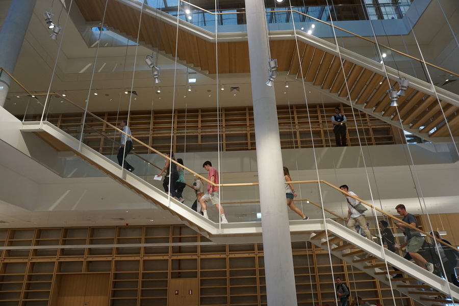 Inside the new national library