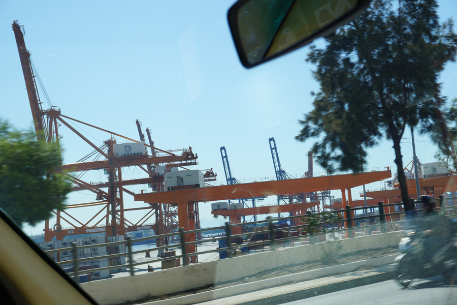 Perama, once a major shipbuilding area, now has one of the highest unemployment rates in Greece
