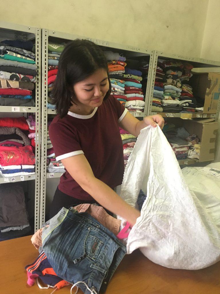 Abby Takahashi Caritas Hellas Volunteering CYA College Year in Athens, Caritas Hellas, College Year in Athens, CYA, Volunteering, Study Abroad