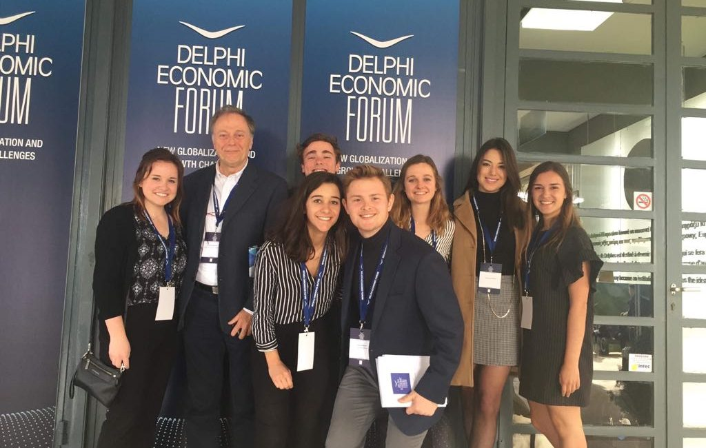 At the Center of it all - CYA at Delphi Economic Forum 2018