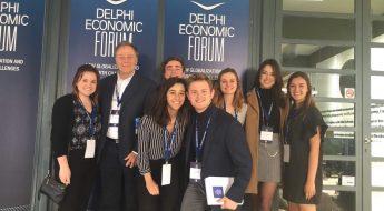 CYA students at DEF 2018 cyathens, cyablog, study abroad