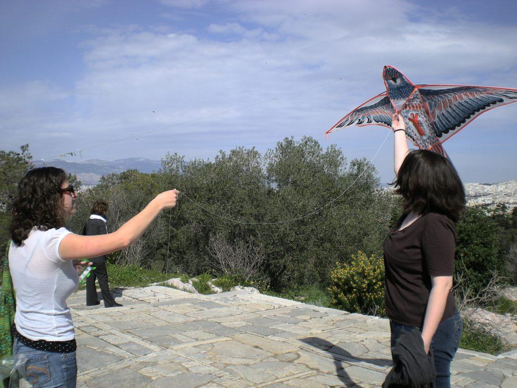 Clean Monday Athens Kite Flying cyathens, cyablog
