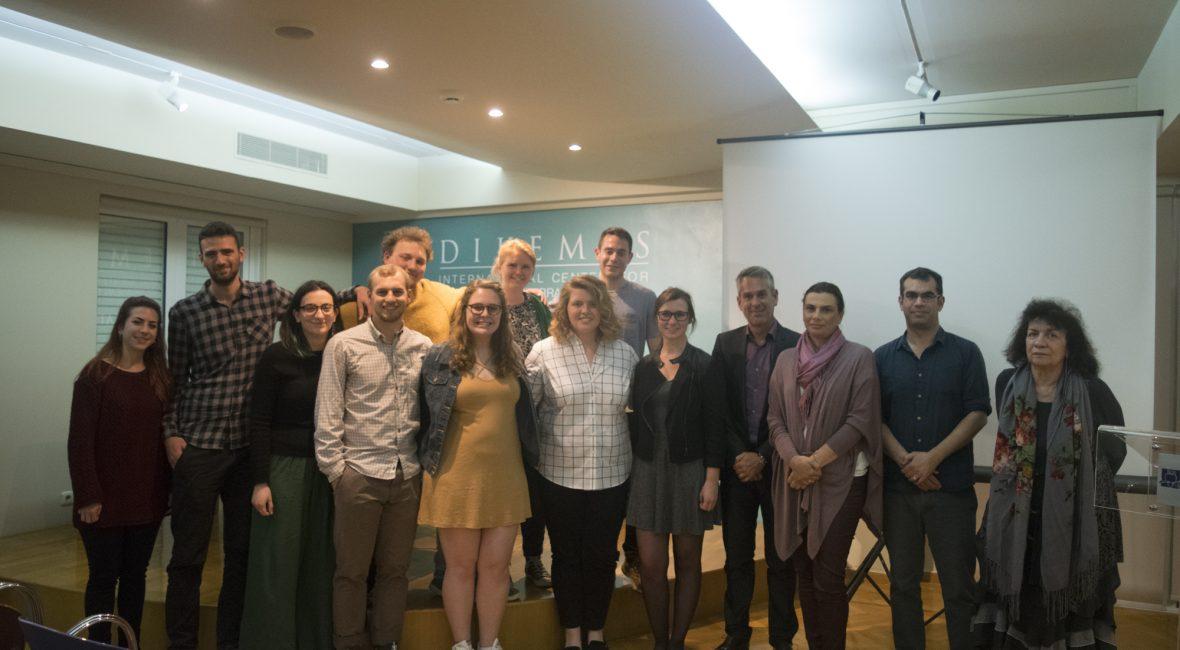 Voula Field School Team presentation CYA Study Abroad in Greece