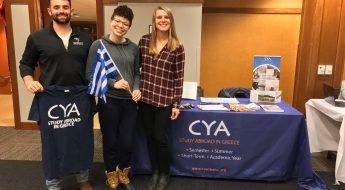 Admin Support Coordinator CYA study abroad in greece, cyablog