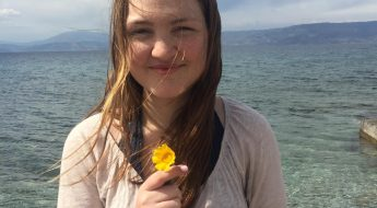 Teaching German Volunteer Gretchen Bednarz CYA Study Abroad in Greece Volunteering
