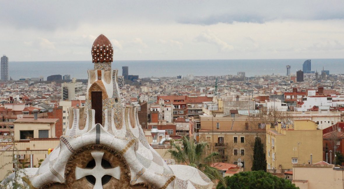 Barcelona Park Guell CYA optional trip to Spain