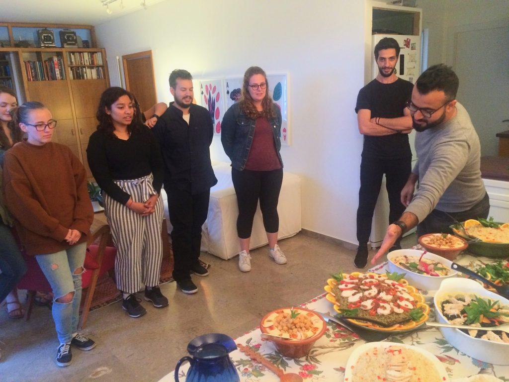 CYA Syrian Dinner Gandolfo cyathens, cyablog, college year in athens