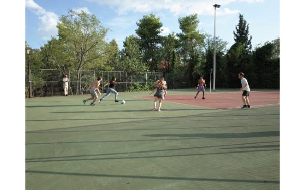 Bonding Activities: playing soccer
